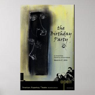 födelsedagsfest posters