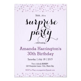 Födelsedagsfest inbjudan för