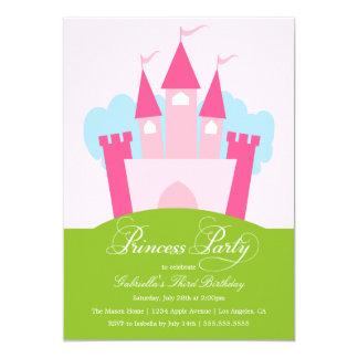 Födelsedagsfest inbjudan för Princess Festa |