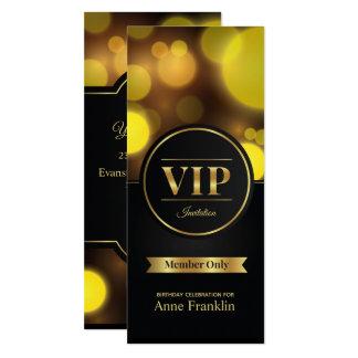 Födelsedagsfest inbjudan för VIP-medlem endast