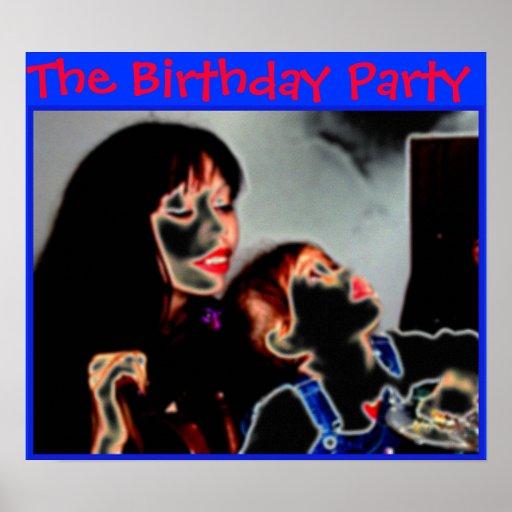 Födelsedagsfesten Affischer