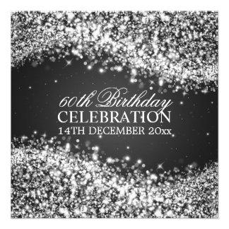 Födelsedagsfesten för eleganten som 60th Sparkling