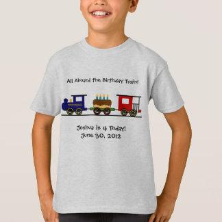 Födelsedagtågskjorta Tee Shirts