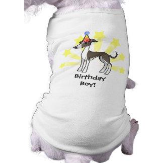 Födelsedagvinthund/Whippet/italiensk vinthund Husdjurströja