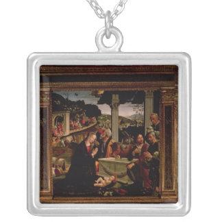 Födelsen av Kristus Silverpläterat Halsband