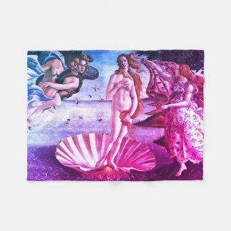 Födelsen av Venus Fleecefilt