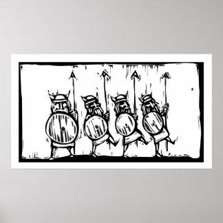 Fodra av Vikings Poster
