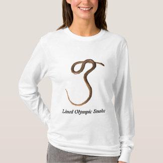 Fodrade olympiska ormdamer AA Hoody T-shirt