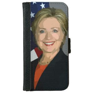 Fodral 2016 för plånbok för Hillary Clinton