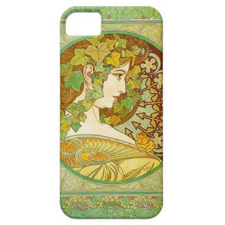 Fodral för Alphonse Mucha lagrariPhone 5 iPhone 5 Case-Mate Skal