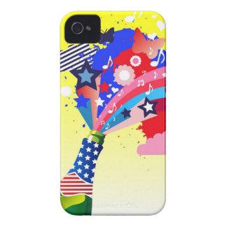 Fodral för amerikanfirandeiPhone 4 iPhone 4 Case-Mate Skydd