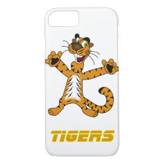 Fodral för Apple iPhone 7 för tigerfläktar