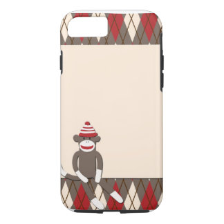 Fodral för Argyle sock monkeyiPhone 7