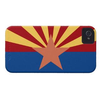 Fodral för Arizona statlig flaggablackberry bold iPhone 4 Case-Mate Case
