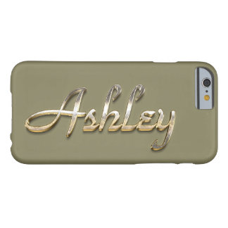 """Fodral för Ashley beställnings- MonogramiPhone Barely There iPhone 6 Fodral"