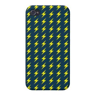 Fodral för åskamönsteriPhone 4 iPhone 4 Fodraler