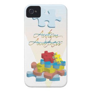 Fodral för blackberry bold för Autismmedvetenhetpu iPhone 4 Cases