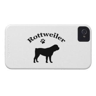 Fodral för blackberry bold för Rottweiler iPhone 4 Case-Mate Case