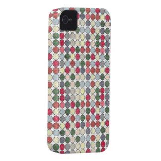 Fodral för blackberry bold för vintage50-talpolka iPhone 4 skydd