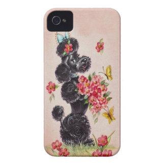 Fodral för blackberry bold för vintage50-talpudel Case-Mate iPhone 4 fodral