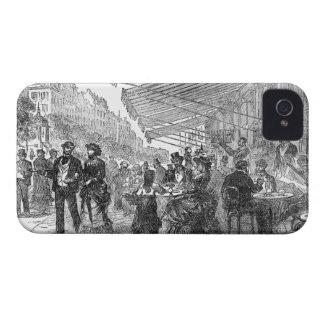 Fodral för blackberry bold för vintageParis iPhone 4 Skydd