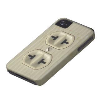 Fodral för blackberry bold för vintagevägghålighet iPhone 4 case