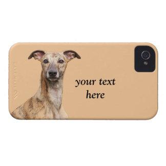 Fodral för blackberry bold för Whippet hundfoto Case-Mate iPhone 4 Skydd