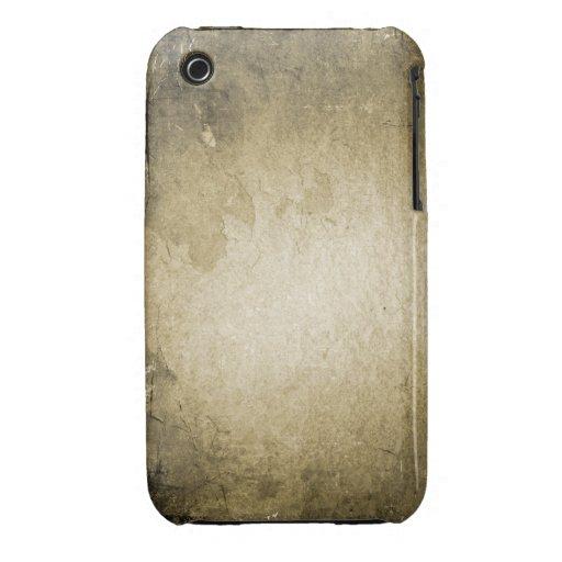 Fodral för blackberry curve för vintageGrungedesig iPhone 3 Fodral