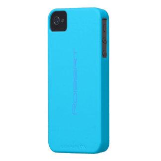 Fodral för blått för Robert iphone 4 iPhone 4 Fodraler