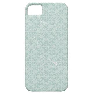 Fodral för blåttdamasttelefon iPhone 5 hud