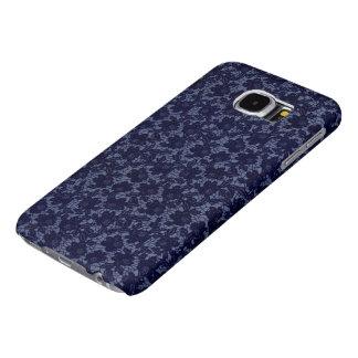 FODRAL för blåttsnöreSAMSUNG GALAX S6 Samsung Galaxy S6 Fodral