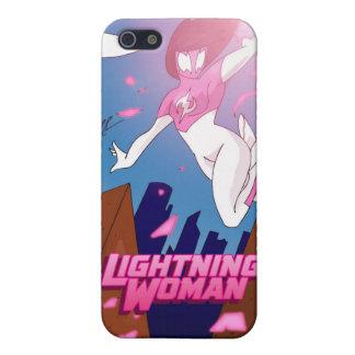 Fodral för blixtkvinnaiPhone 5 iPhone 5 Fodraler