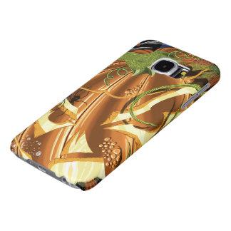 Fodral för Cheshire pumpagalax S6 Galaxy S5 Fodral