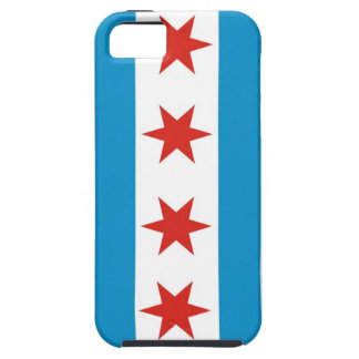 fodral för chicago stadsflagga iPhone 5 cover