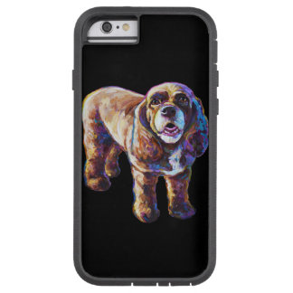 Fodral för cockerspanielSpanielsvart Tough Xtreme iPhone 6 Case