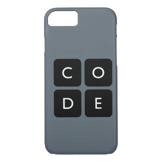 fodral för Code.org logotyptelefon