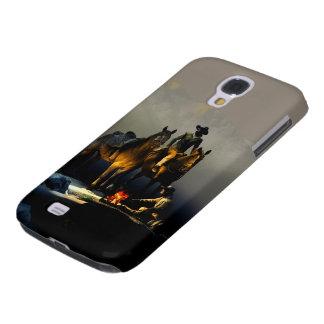 Fodral för cowboys- och hästSamsung galax S4 Galaxy S4 Fodral
