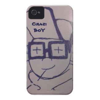 Fodral för Crazi pojkeiphone 4 iPhone 4 Fodral