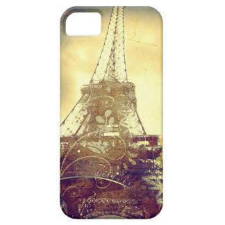 Fodral för den Eiffel torntelefonen som dämpas iPhone 5 Cases