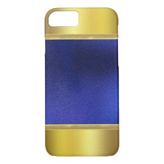 fodral för design för plus för iPhone 7 guld-