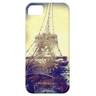 Fodral för Eiffel torntelefon, indigoblå blått och iPhone 5 Hud