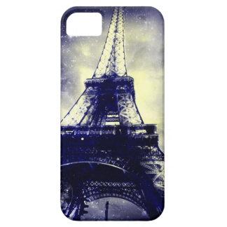 Fodral för Eiffel torntelefon, midnatt Blur och iPhone 5 Skal