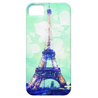 Fodral för Eiffel torntelefon, Mintgrönt och iPhone 5 Case-Mate Fodraler