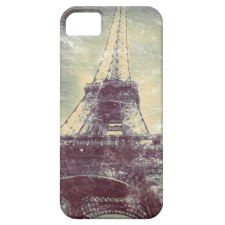 Fodral för Eiffel torntelefon, vintagelook iPhone 5 Case-Mate Skal