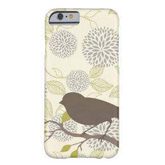 Fodral för fågel- & blommaiPhone 6 Barely There iPhone 6 Skal