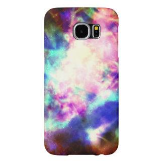 Fodral för färgbristningsiPhone 6 Samsung Galaxy S6 Fodral