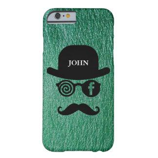 Fodral för FB för personligmustaschLondoner Barely There iPhone 6 Fodral