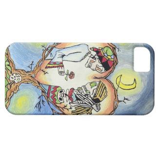Fodral för förälskad spanjor för skelett mobilt barely there iPhone 5 fodral