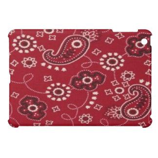 Fodral för fullföljande för röd iPad för Paisley B iPad Mini Mobil Skydd