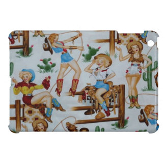 Fodral för fullföljande för RodeoCowgirlsiPad mini iPad Mini Skydd